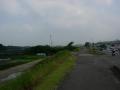 180609山城大橋から再び右岸へ