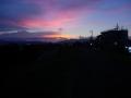 180701桂川CRから夜明けの空