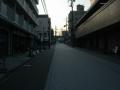 180716早朝の魚屋通を通って伏見を東へ