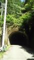 180602鹿路トンネル旧道、吉野側のトンネル入り口