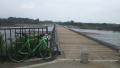 180609復旧工事の終わった流れ橋
