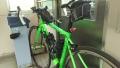 180616最後部に自転車を持ち込み立てかける