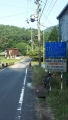 180716谷山林道を越えて笠取側まで下りきる