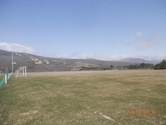 バラギ高原サッカーグランド