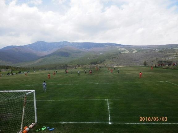 GW時のサッカー交流会