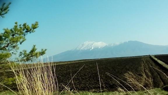 クロカンコースよりの浅間山です。