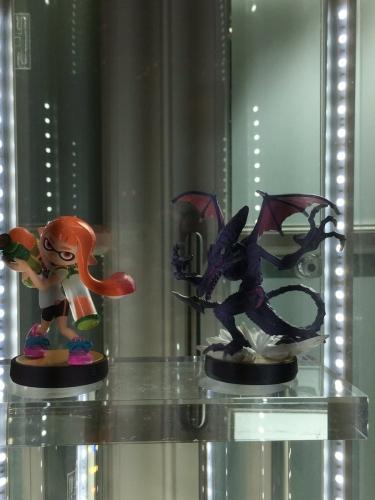 『スマブラSPECIAL』新発売される「インクリング」「リドリー」amiiboがパリで展示