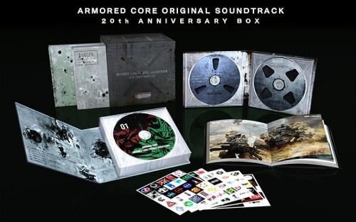 アーマードコア 『ARMORED CORE ORIGINAL SOUNDTRACK 20th ANNIVERSARY BOX』