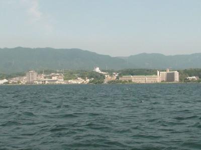 琵琶湖南湖雄琴沖