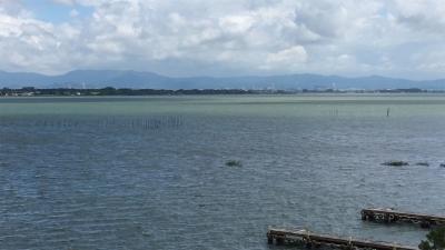 台風12号通過後の琵琶湖(YouTubeムービー)