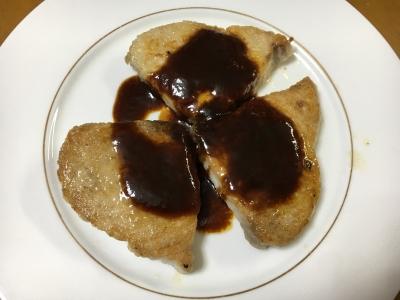 カジキのステーキ できあがり!!