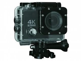 ドン・キホーテが発売した「コンパクト防水4K ULTRAHD カメラ」6980円(税別)
