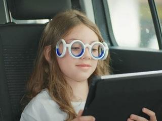 乗り物酔いを防ぐメガネ「SEETROËN」