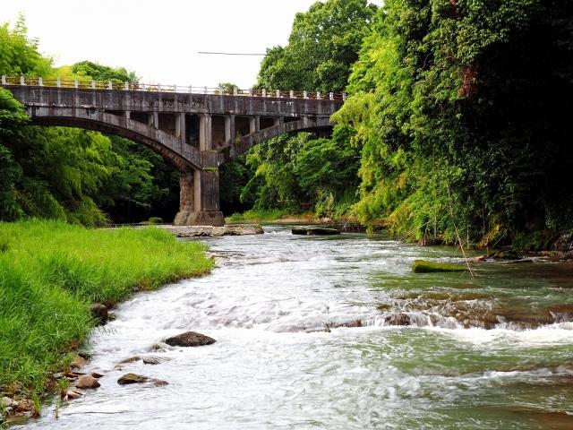 180616御坂サイフォン橋①
