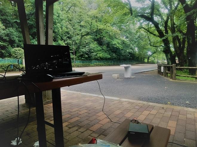 2018年6月 多摩川台公園でFMDX(1)