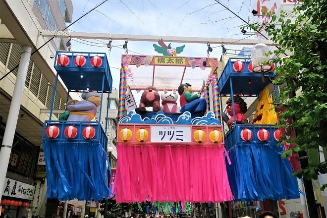 2018年 平塚たなばたまつり(アーケード街の七夕1)