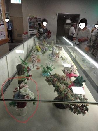 たけまるホールの展示の自分の作品②