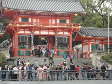 京都八坂神社前②