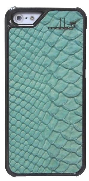 iPhone 5 5s Case Leder Mrs Laguna chrome (1)