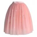 Diamonds in My Heart Pink Tulle Skirt1111111111