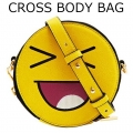 SMILEY CROSS BODY BAG11111