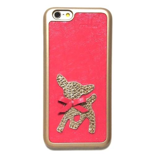 Der Bambikuss- iPhone 6 Case Bambi pink second (3)11111