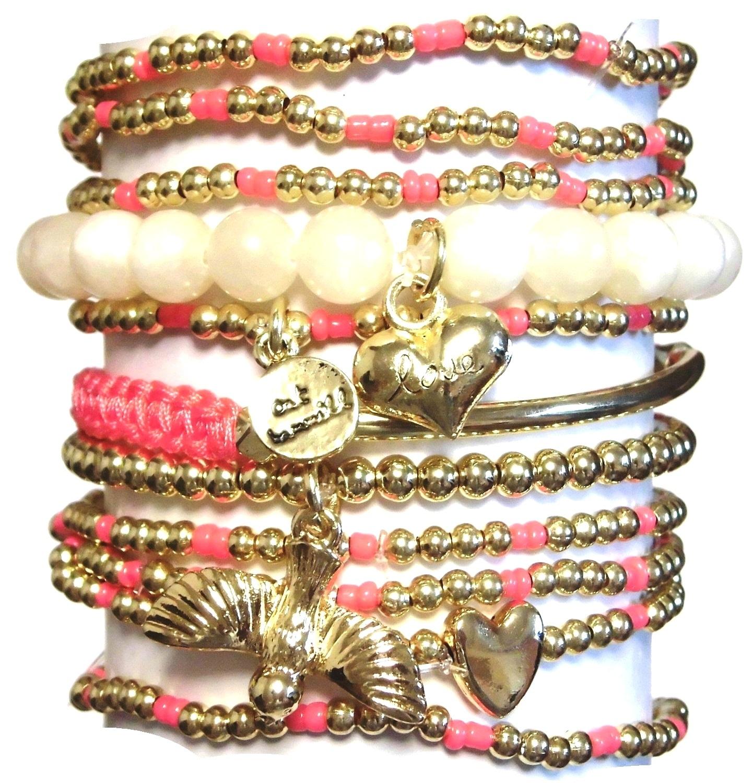 w71 coco bracelet set natural (2)