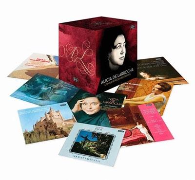 Alicia de Larrocha Complete Decca Recordings【『最安値41CD』】アリシア・デ・ラローチャ デッカ録音全集