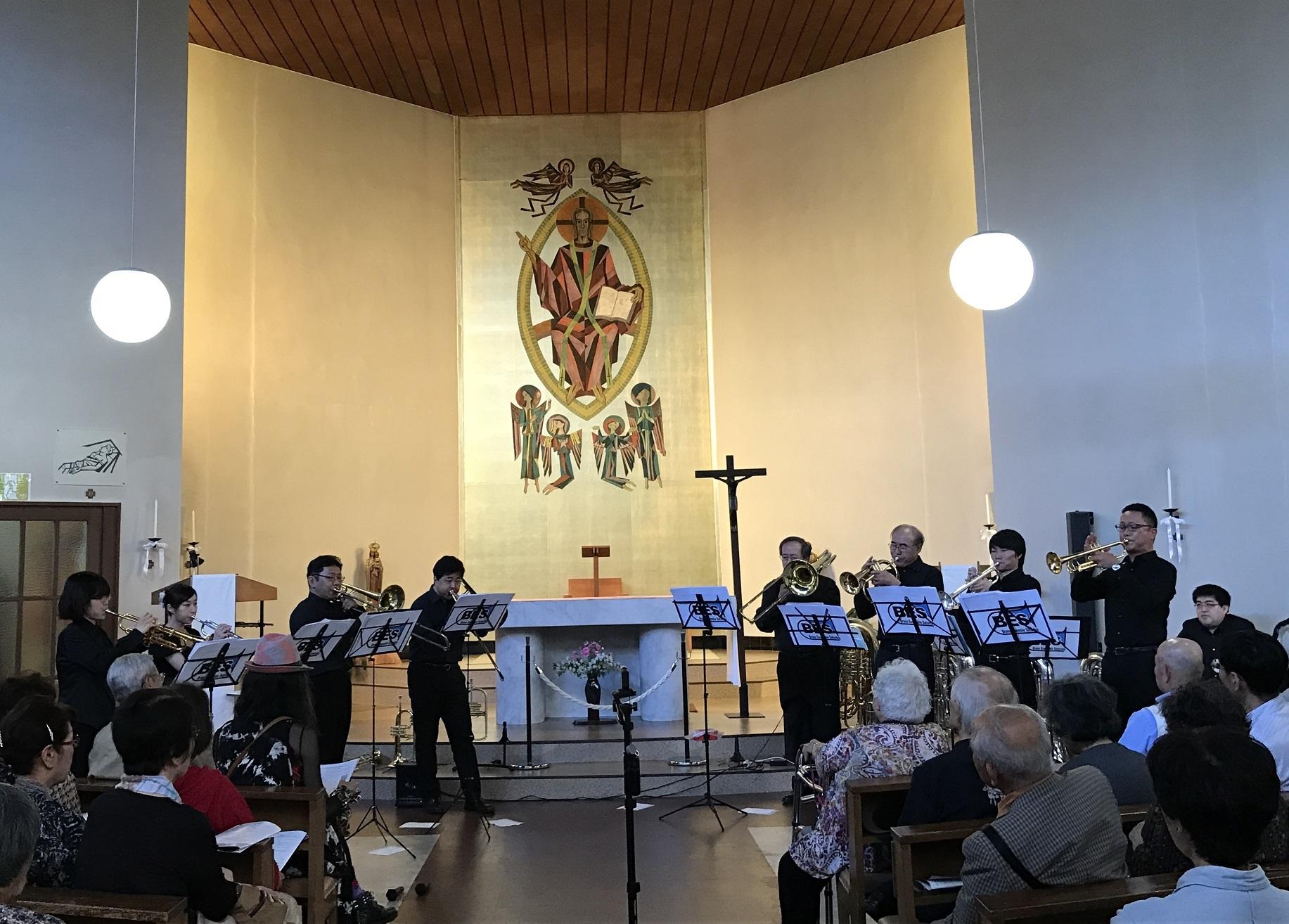 第2回教会コンをYouTubeで♪第1旋法による8声のカンツォン