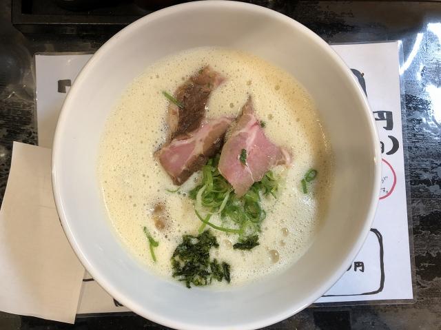 鶏白湯煮干まつ尾(マツビ)@東比恵