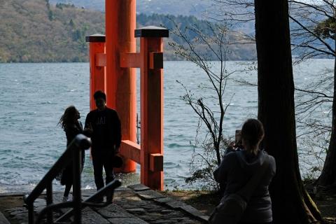 10箱根神社湖畔