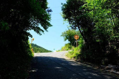 16菊川の上り坂