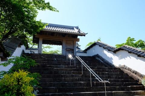 12掛川城公園入り口