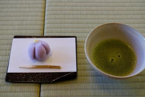 23お菓子と抹茶