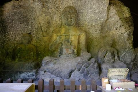10臼杵の石仏