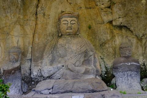 11臼杵の石仏