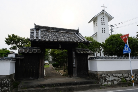 21杵築城下町カトリック教会