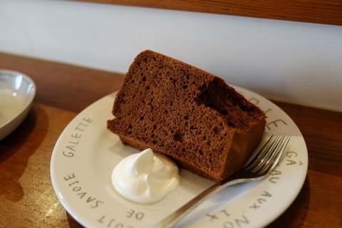 02チョコレートシフォンケーキ