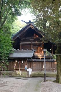 10二荒山神社本殿