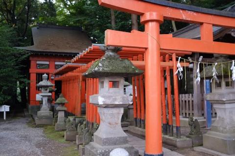 12二荒山神社朱の鳥居