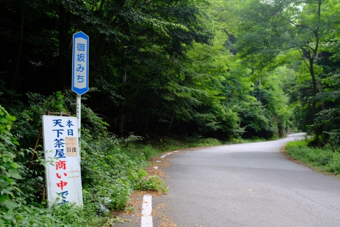 05御坂峠天下茶屋へ