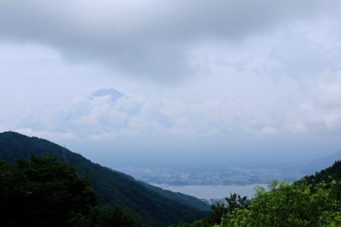 12御坂峠の富士山