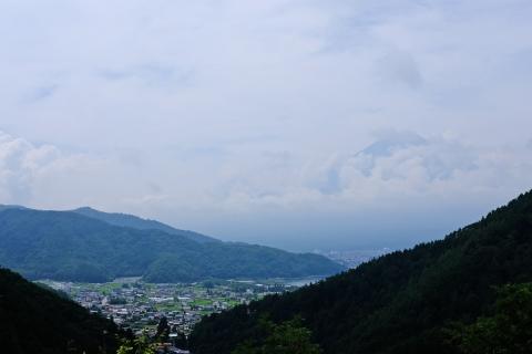 13富士見橋の富士山