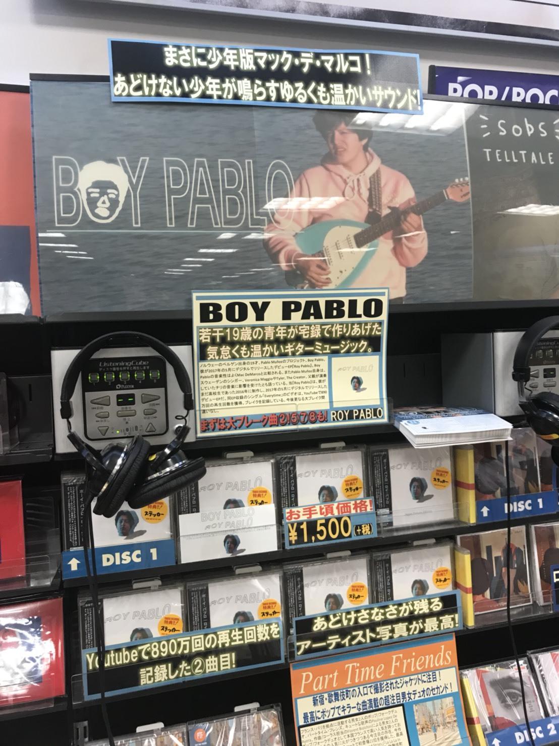 T新宿_BOY PABLO