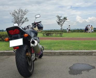 バイクで行っちゃう
