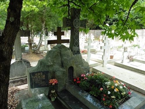 タルコフスキー墓