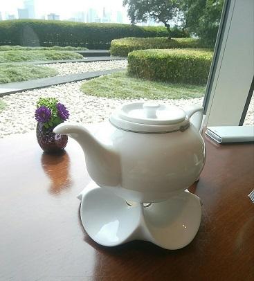 琥珀宮 お茶