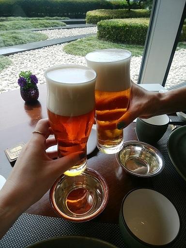 琥珀宮 乾杯