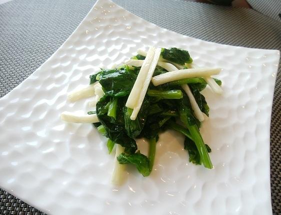 琥珀宮 野菜炒め (2)