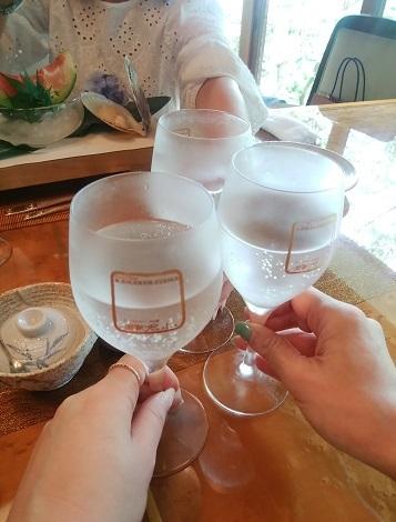 鎌倉山 乾杯